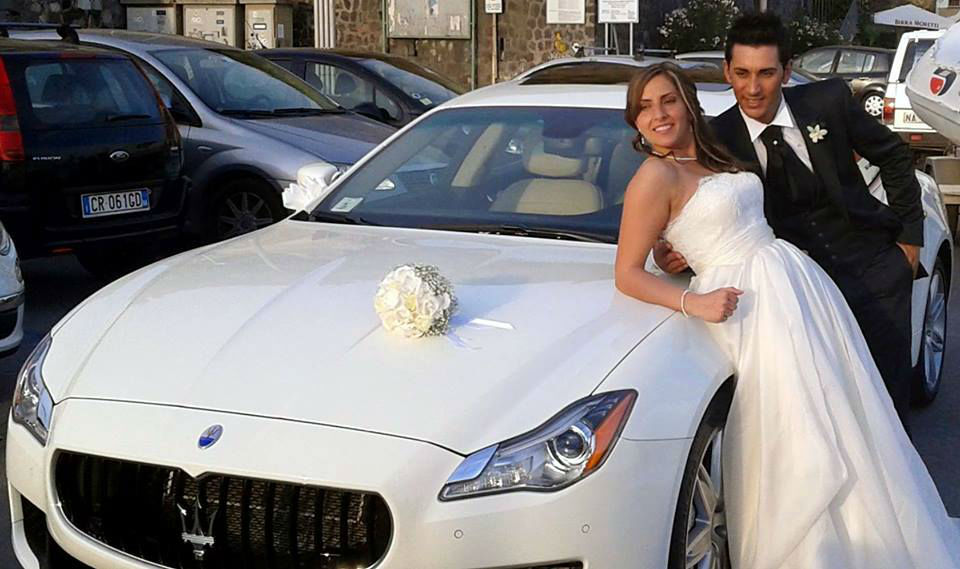 Maserati bianca