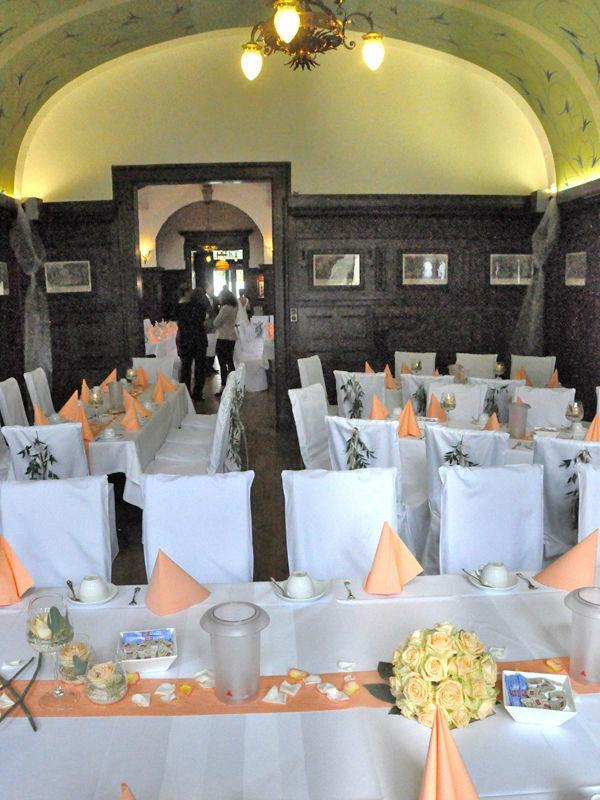 Beispiel: Esszimmer, Foto: Schloss Garvensburg.