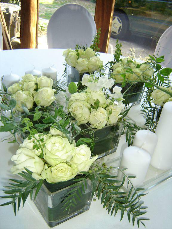 Beispiel: Blumenschmuck für Ihre Hochzeitslocation, Foto: Florastyle.