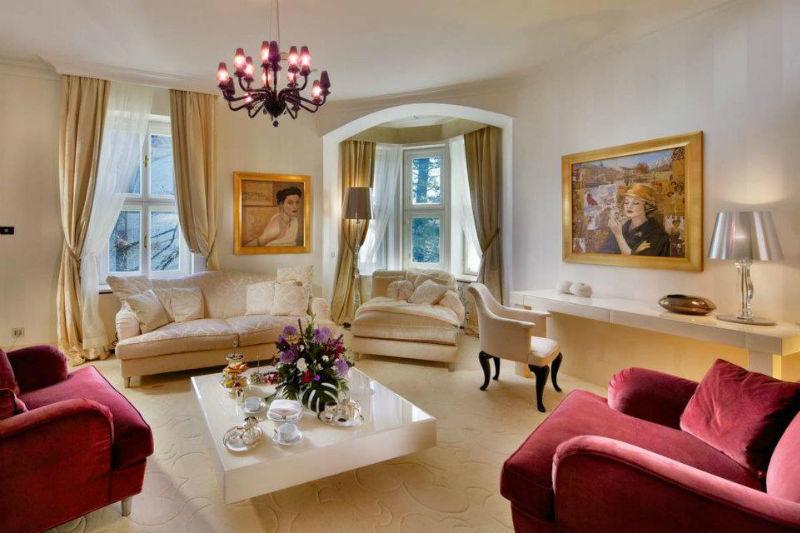 Beispiel: Suite High Tatras, Foto: Kempinski Hotels.