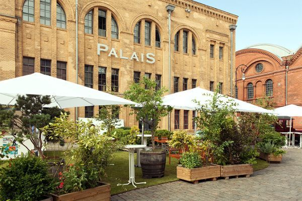 Palais Außenbereich