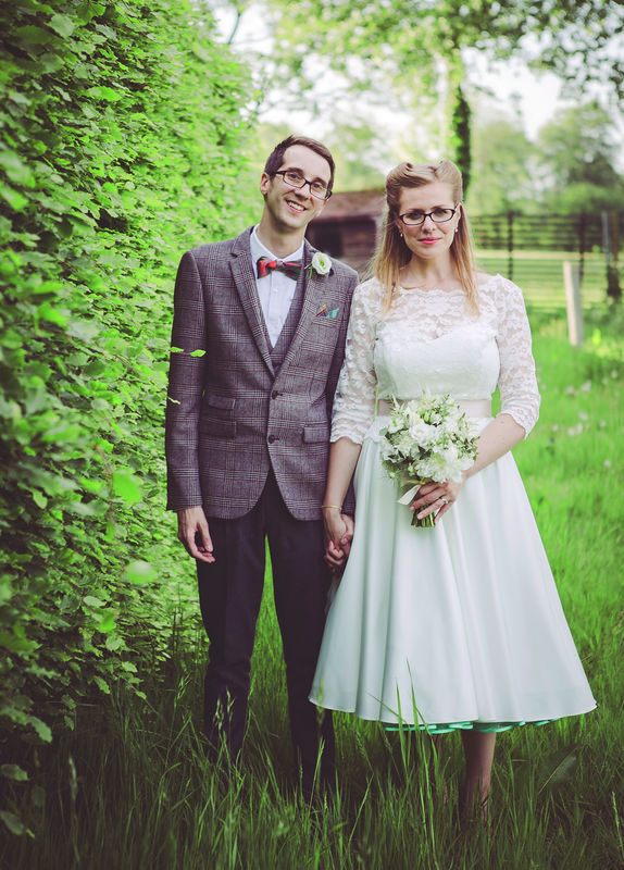 Wedding at Old Luxters Barn, Oxfordshire