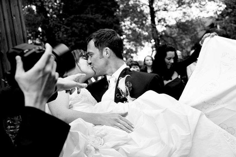 Beispiel: Hochzeitsfotografie, Foto: Avantgarde Wedding Photographers.