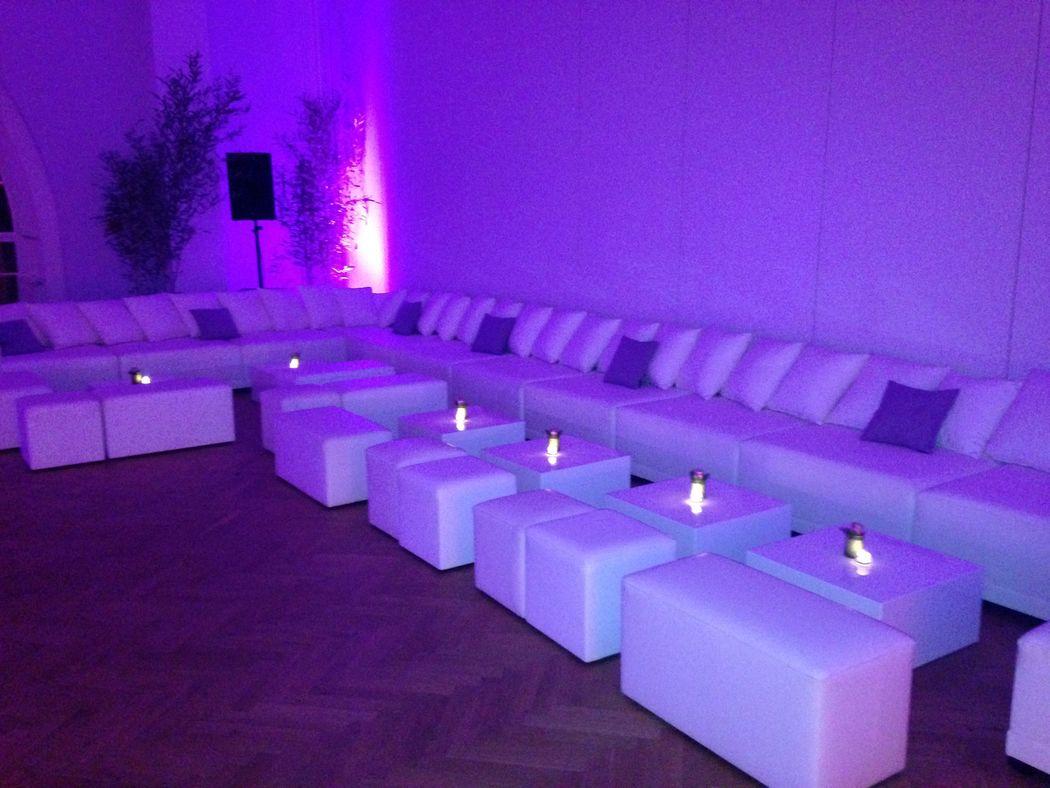Loungemobiliar indoor