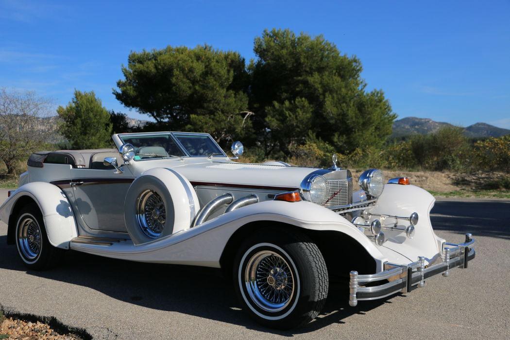 Excalibur voiture mariage paca