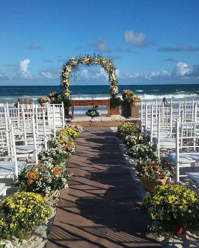 Casamento Rústico na Praia