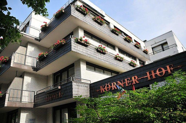 Beispiel: Vorderansicht, Foto: AKZENT Hotel Körner Hof.