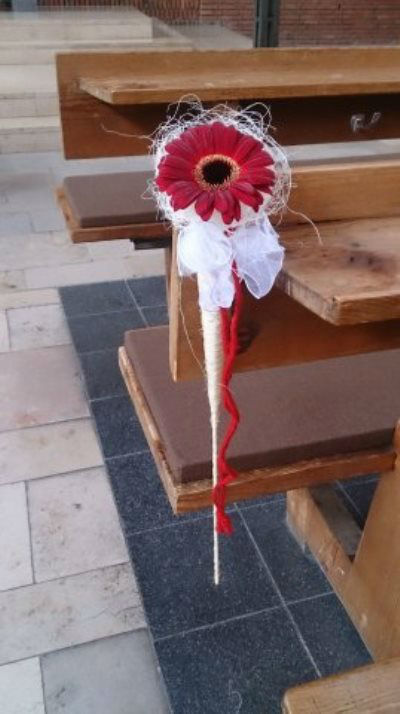 Beispiel: Kirchenschmuck, Foto: Die Blume.