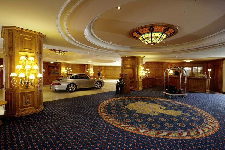 Beispiel: Ankunft, Foto: Interalpen Hotel.