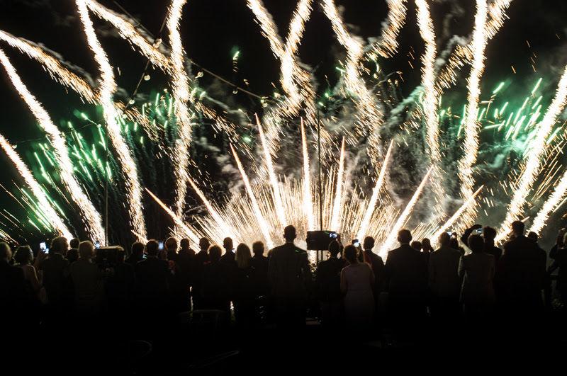 fuochi d'artificio Villa Claudia