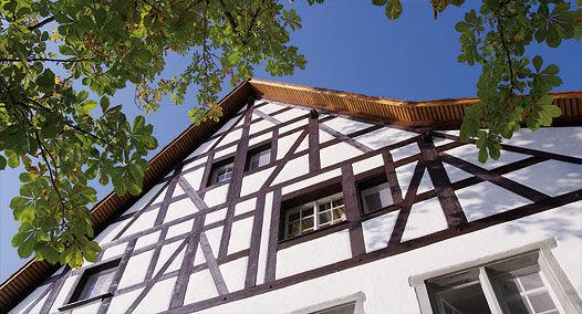 Beispiel: Fassade, Foto: Alte Rheinmühle.