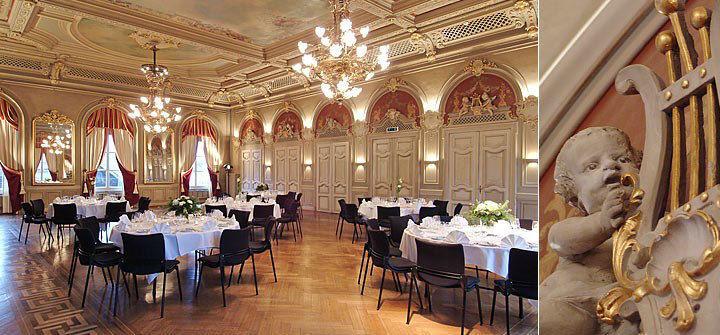 Beispiel: Bankettsaal, Foto: Hotel Bären Langenthal.