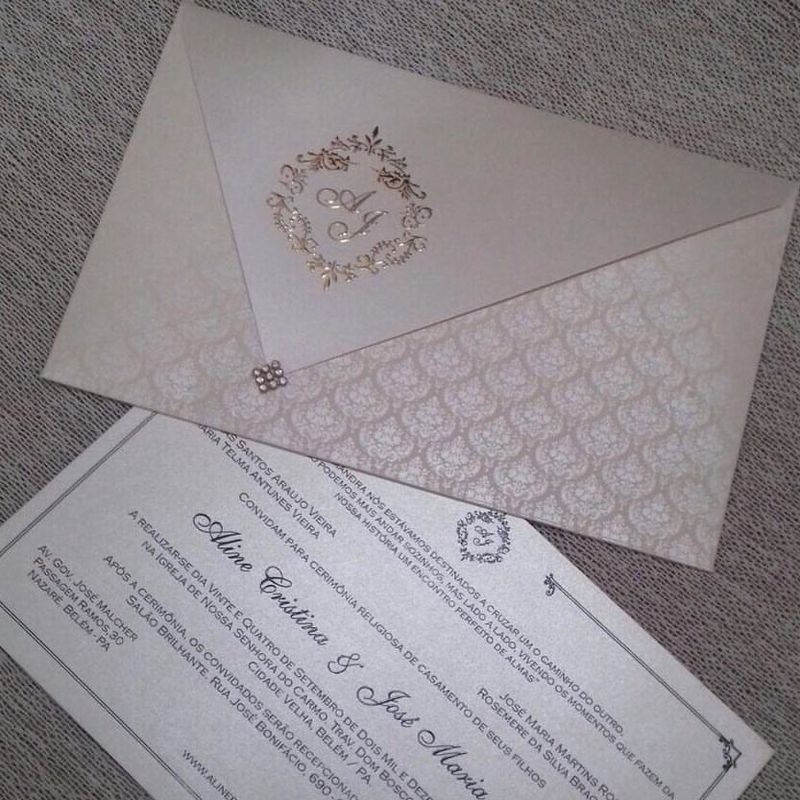 Convite modelo Genebra