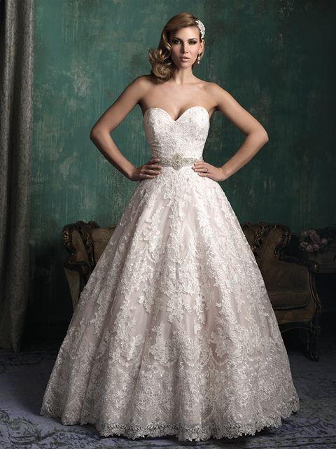 Marca: Allure Bridals. Modelo: C345-espalda.