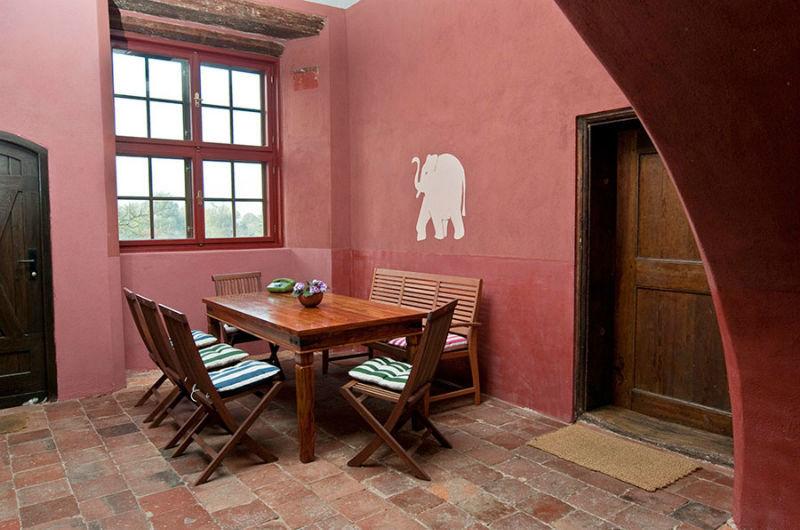 Beispiel: Im Schloss, Foto: Schloss Schmarsow.