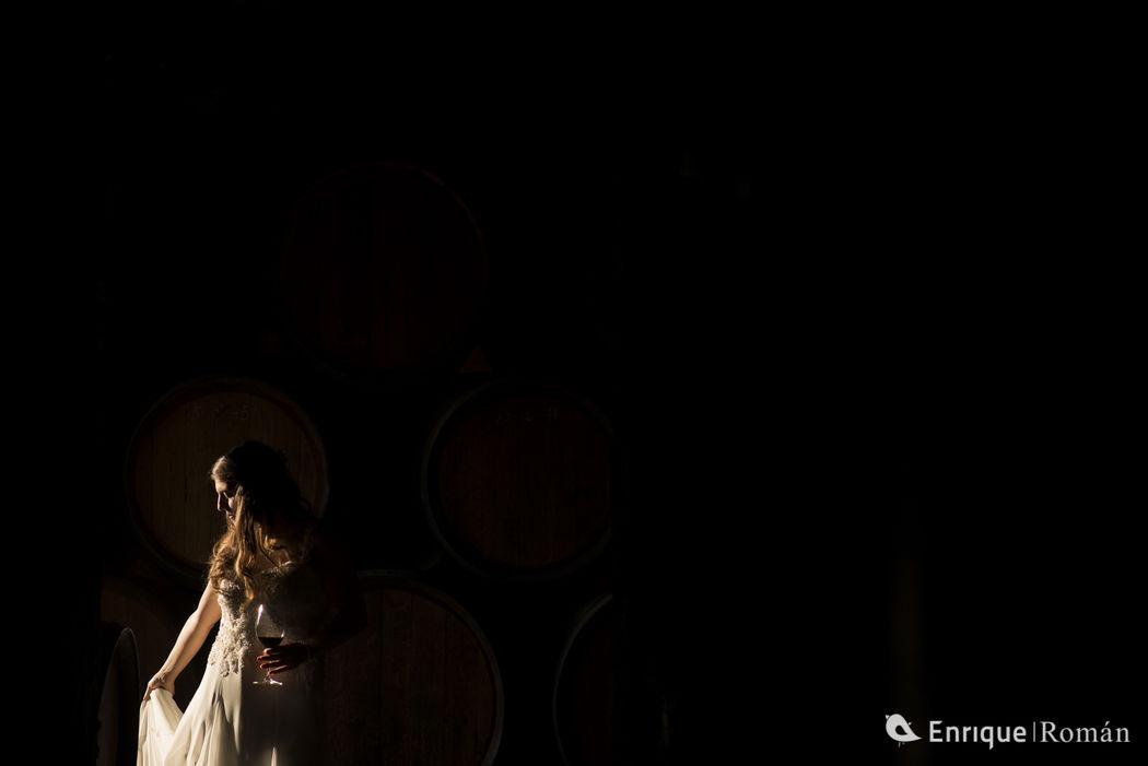 Fotografía de Boda - Reportaje bodegas abadal