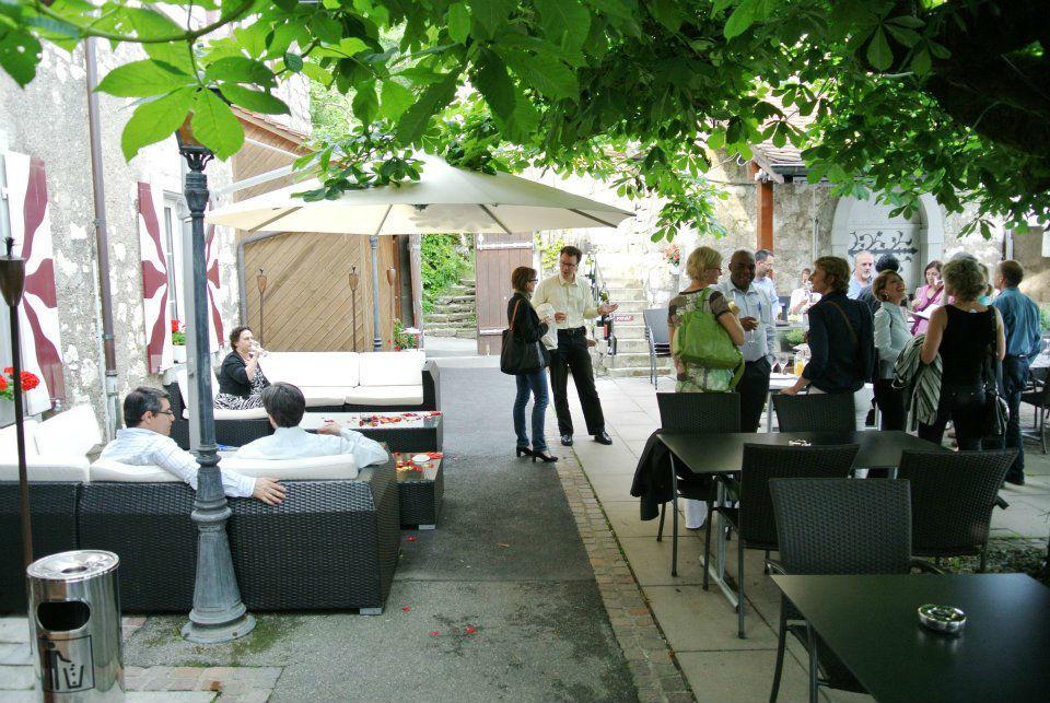 Beispiel: Terrasse, Foto: Schloss Schartenfels.