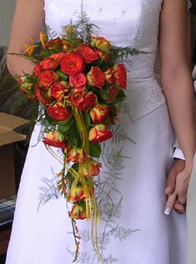 Beispiel: Der Strauß für Ihren großen Tag, Foto: Blumen Beilner.