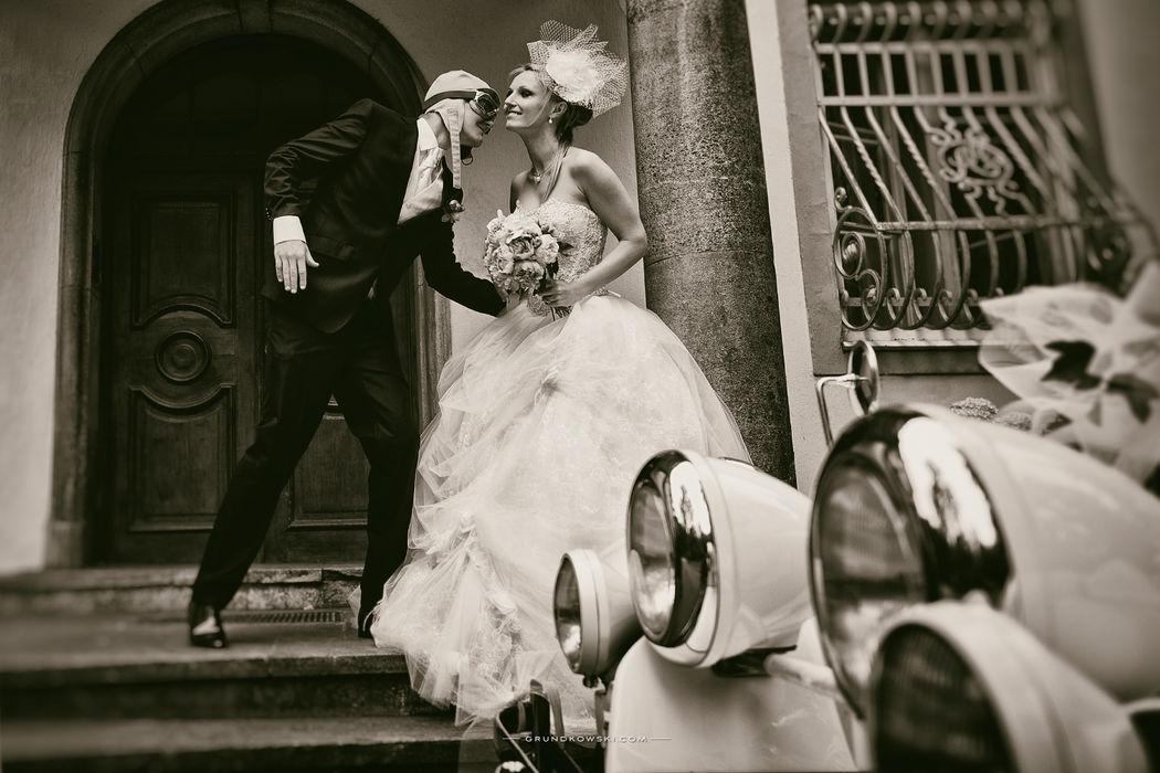 Fotografie ślubne w Bursztynowym Pałacu