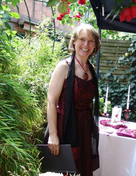 Beispiel: Die Zeremonienleiterin, Foto: Anna Held Zeremonien.