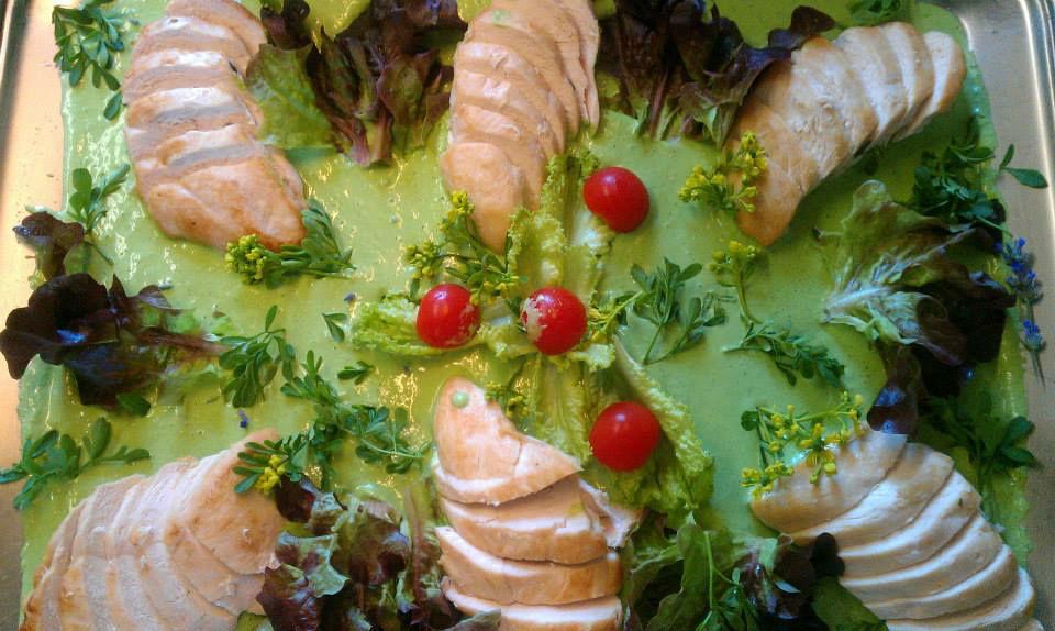 Beispiel: Catering, Foto: Café-Restaurant Lusthaus.