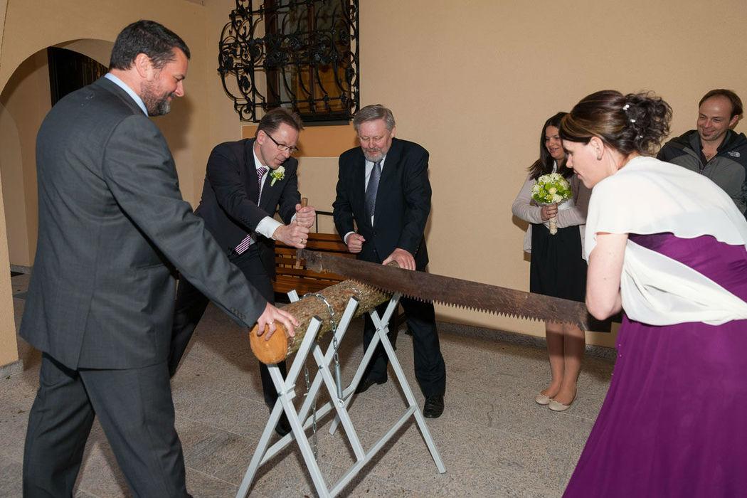 Beispiel: Ihre Hochzeit im Hotel, Foto: Naturhotel Schloss Kassegg.