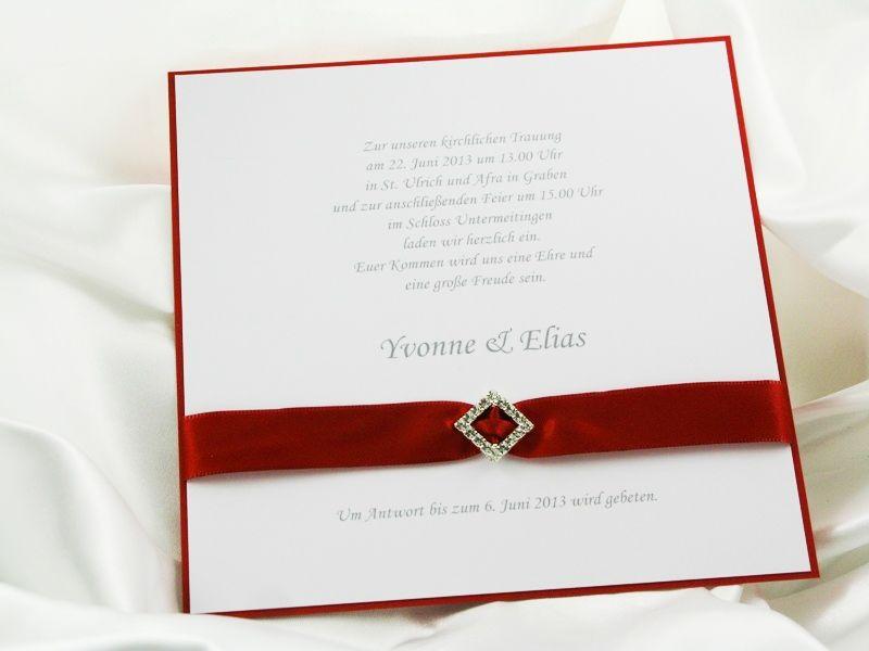 Beispiel: Einladung mit Glanz, Foto: Giorti.