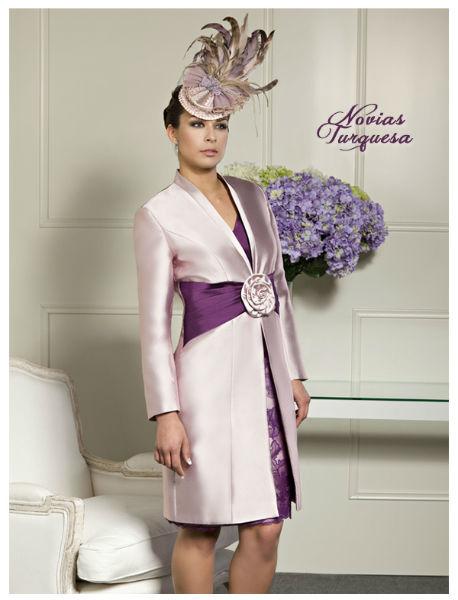 Abrigo+vestido encaje / madrina