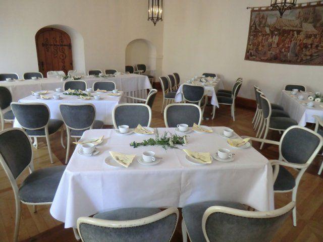 Beispiel: Eventdekoration, Foto: Kloster Machern Bernkastel- Wehlen.