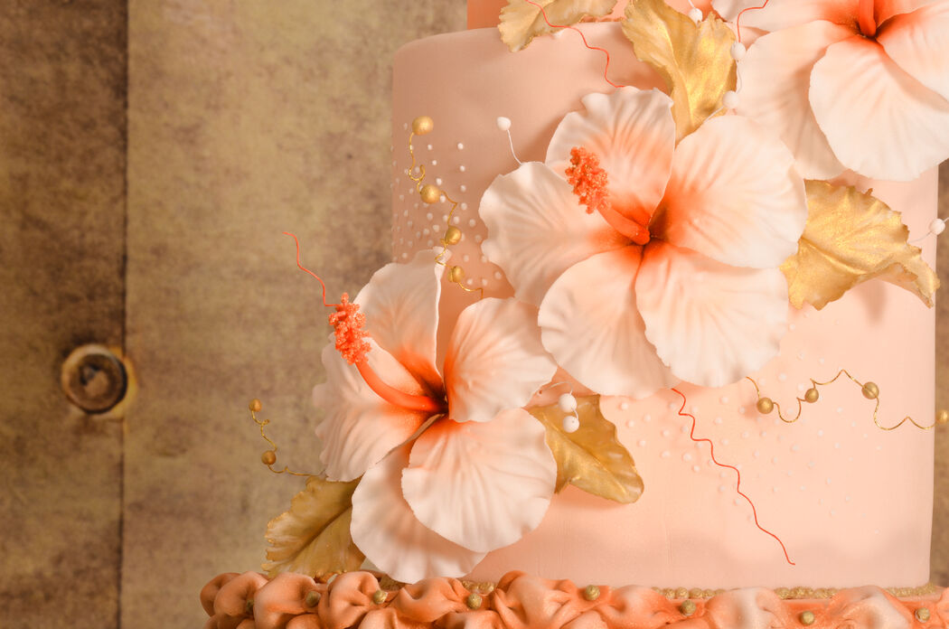 Tropical Dreams Cake Blume