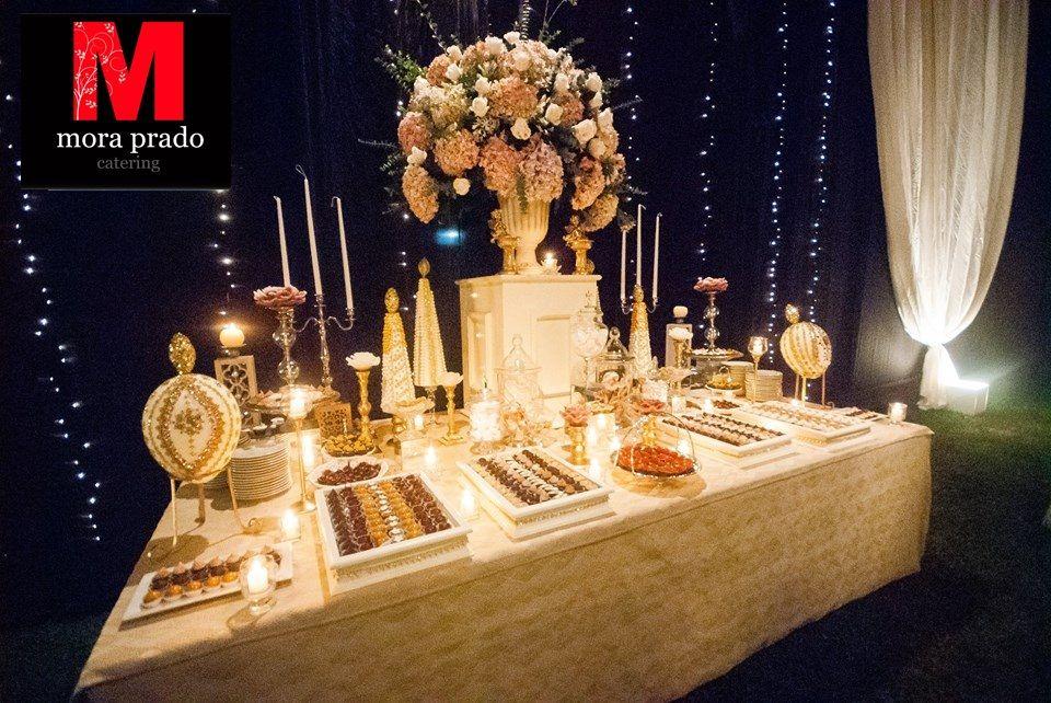 Nuestra gran mesa dulce hecho para tu boda de ensueño.