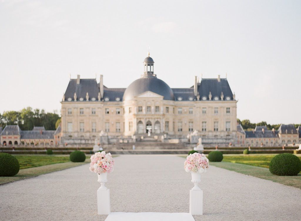 Luxury château wedding