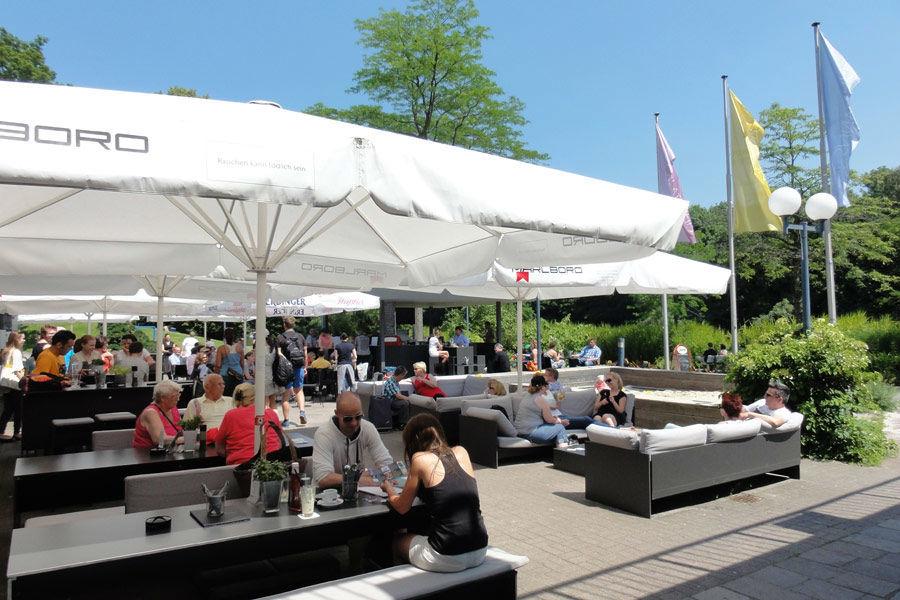 Beispiel: Seepavillon, Foto: Schürmanns im Park.