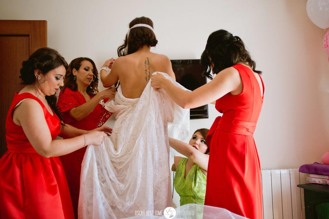 Oscar Ruiz Tomé, Fotógrafo de bodas, casa