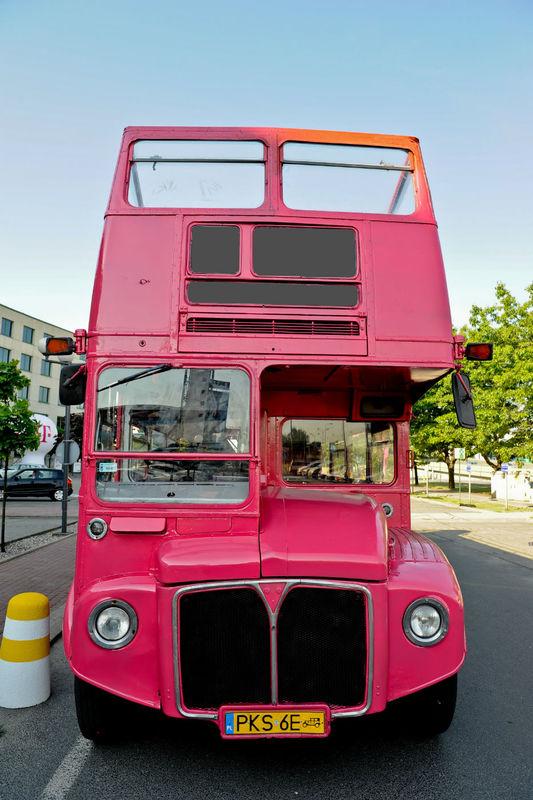 Czerwony Autobus, double-decker.pl na ślub