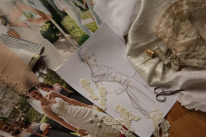 Beispiel: Ihr Traumkleid vom Designer, Foto: 2ème Étage.