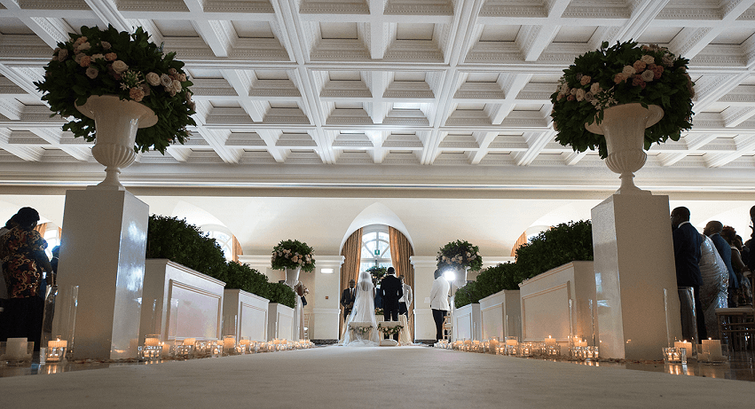 Cerimonia a Villa Miani. Roberta Torresan Wedding Planner & Designer, Roma