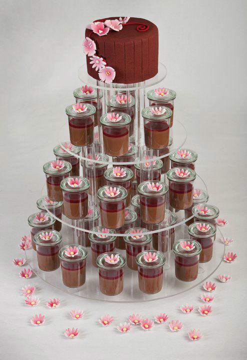 Beispiel: Die Torte passen zu Ihrer Hochzeitsdekoration, Foto: Unsere Hochzeitstorte.
