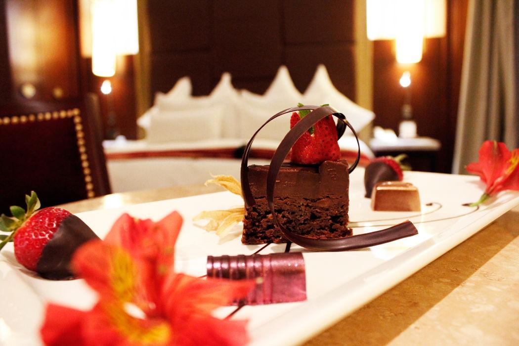 Un dulce detalle  que da inicio al romance en Sumaq Machu Picchu Hotel