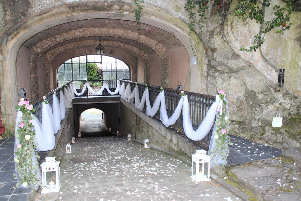 Notre tunnel d'accès au parking