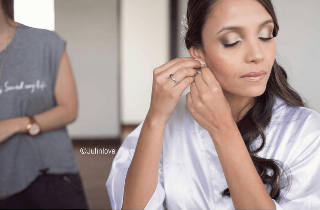 Diana Mora- Makeup & Hair. Foto: Juli Osorio
