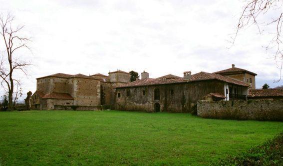 Vista exterior del Palacio de Meres