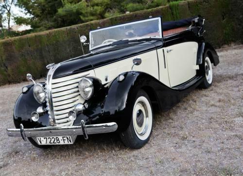 1938 Hudson Eight De Luxe