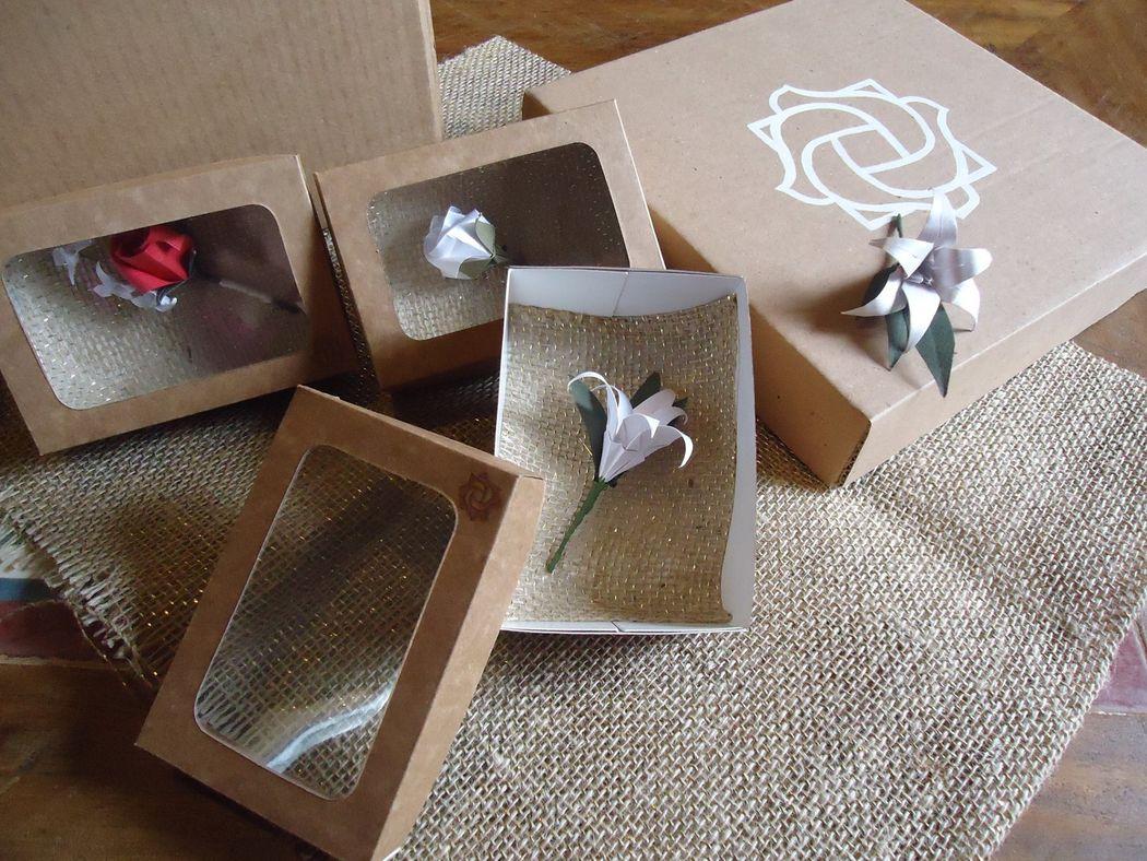 Katia Grisbach- Buques de origami