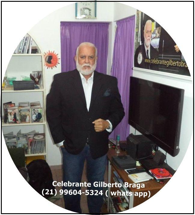 Celebrante Gilberto Braga