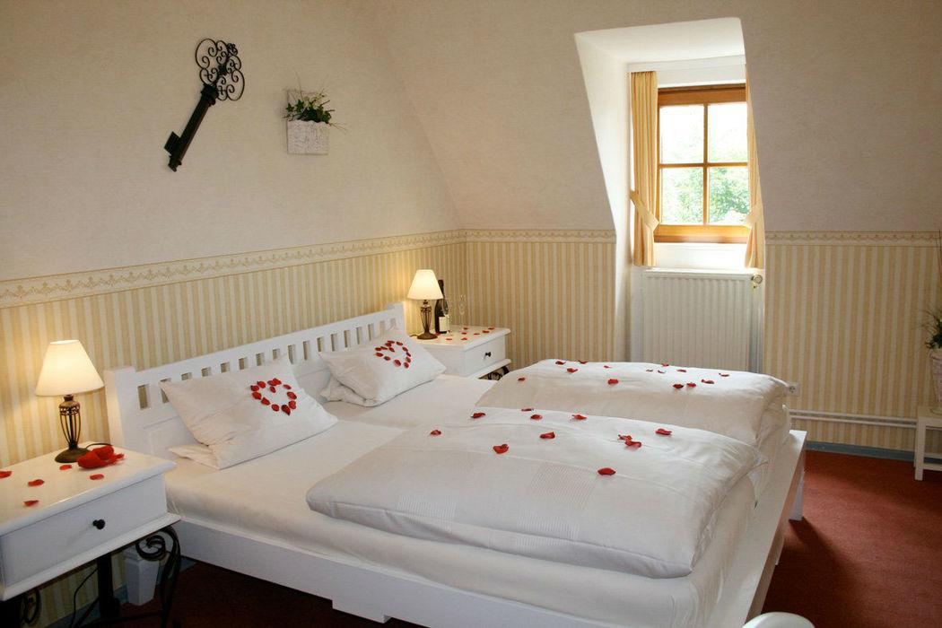 Beispiel: Zimmerbeispiel, Foto: Schloss Garvensburg