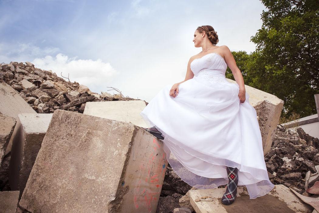 Die Braut in Gummistiefel - unkonventionell macht Spass