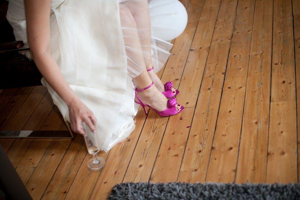 Jules & moi - les préparatifs de la mariée