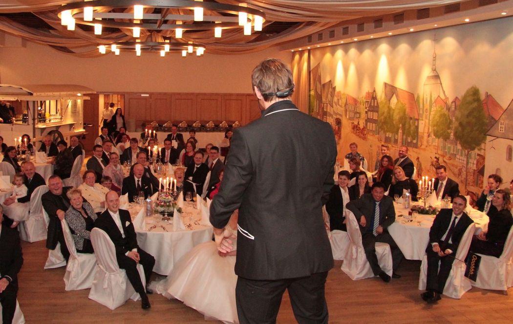 Die Hochzeits-Show als Highlight für die Hochzeit