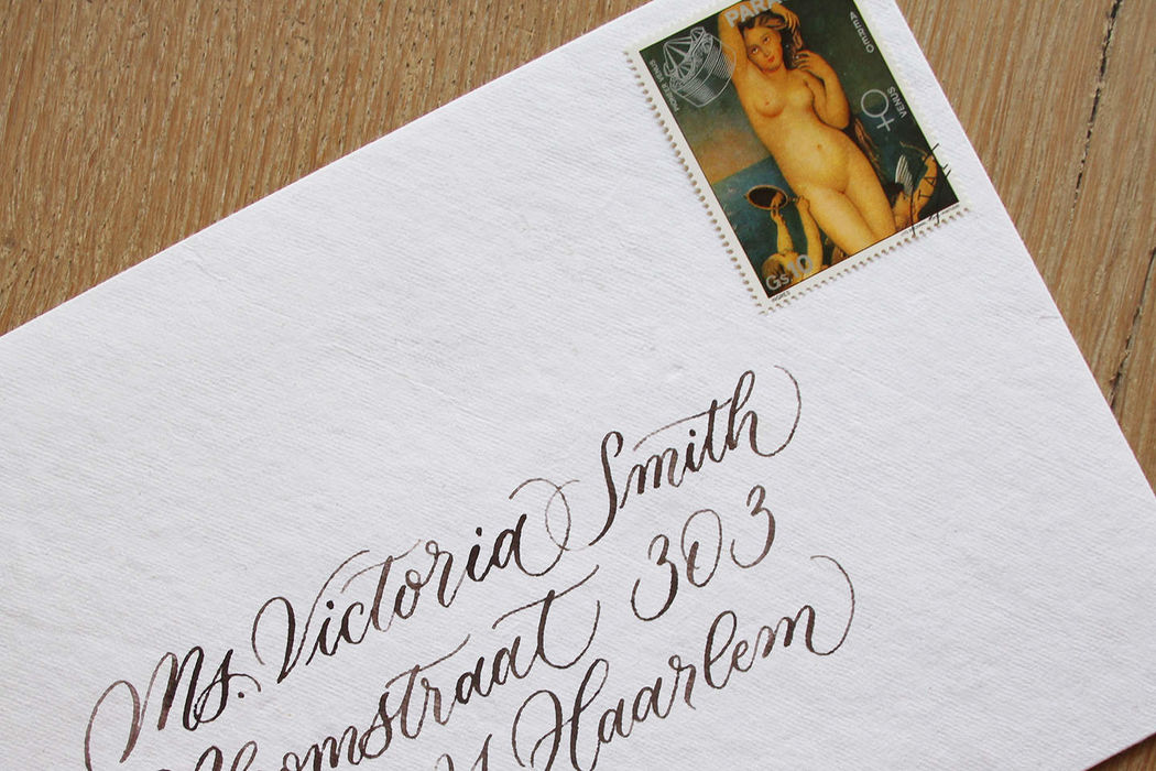Letter and Vine